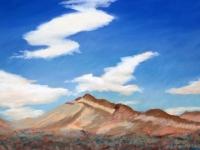 Cloud Rhythms, Pastel, 12x18